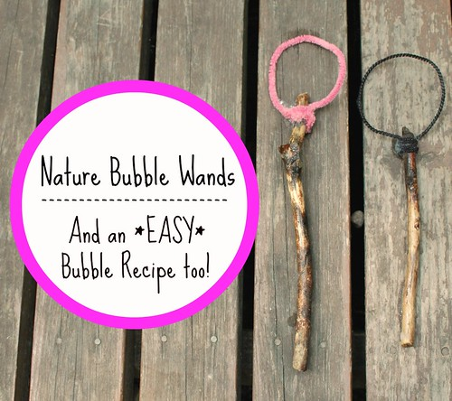 Nature Bubble Wand