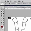 PhotoShop: How to Insert Fabric Swatches into Your Garment's Drawing