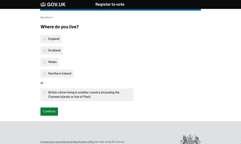 GOV.UK consistent not uniform