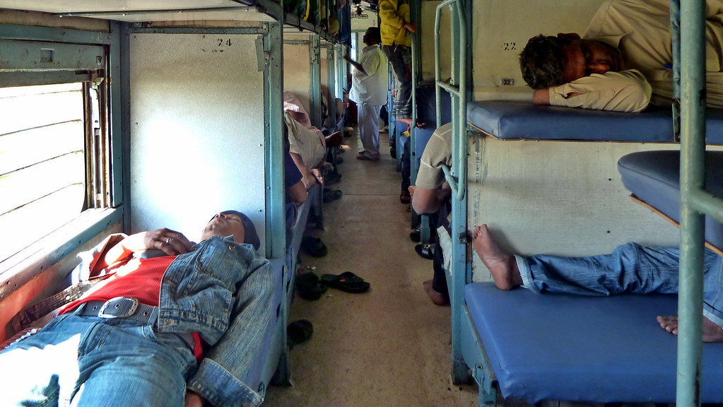 India Indian Railway Sleeper Class 12 Classes Of