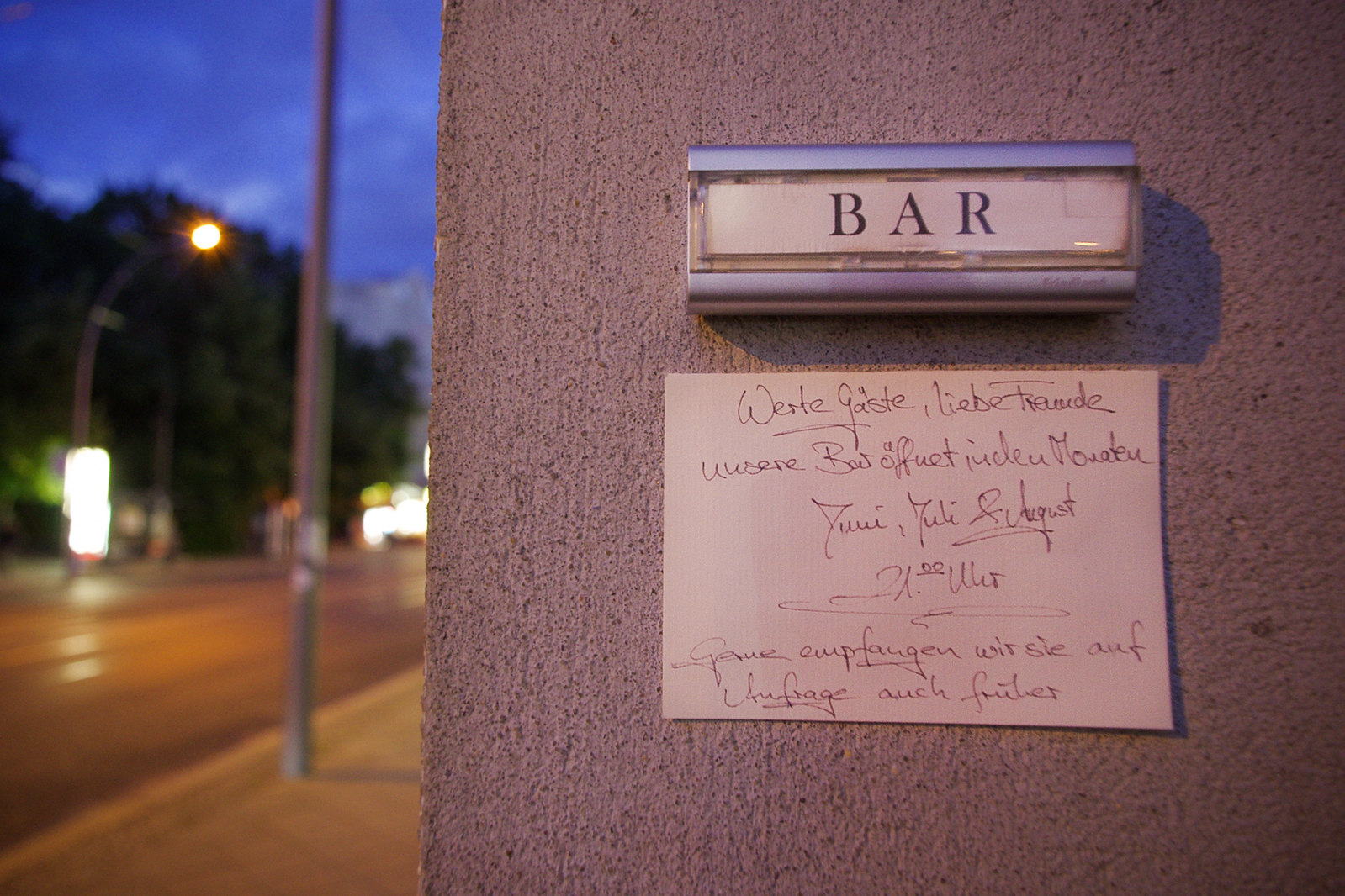 Visiter Berlin - Buck&Breck, Cocktail Bar