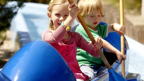 Paddeltour und Kinderkutter (Europa-Park)