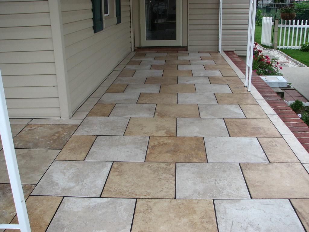 Ceramic vs porcelain tiles porcelain tile porch delrannj dailygadgetfo Image collections