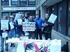 ATOS hit by protests UK-wide by Edinburgh Coalition Against Poverty