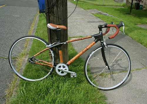 Bamboo Bike by Valid Cycles