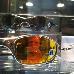 Self portrait in Oakley Juliet glasses at @oakley's headquarters.