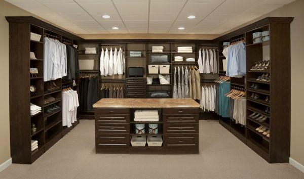 Dise os de closeth imagui for Closet modernos para hombres