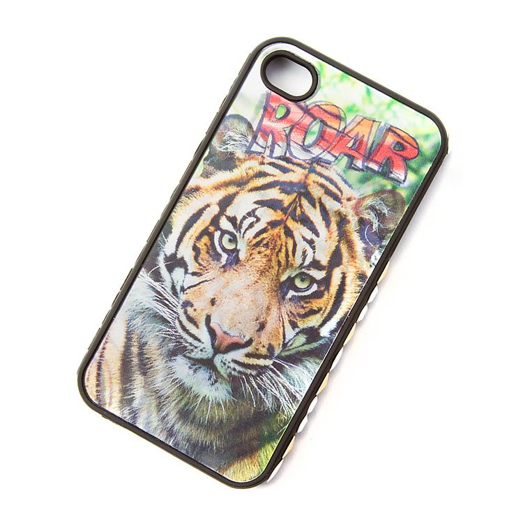 Holographic Roar Tiger Phone Cover