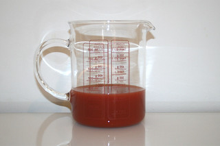 02 - Zutat Tomatensaft / Ingredient tomato juice