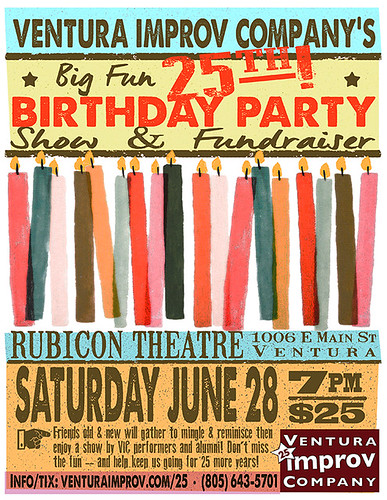 Ventura Improv Company's Birthday Party!