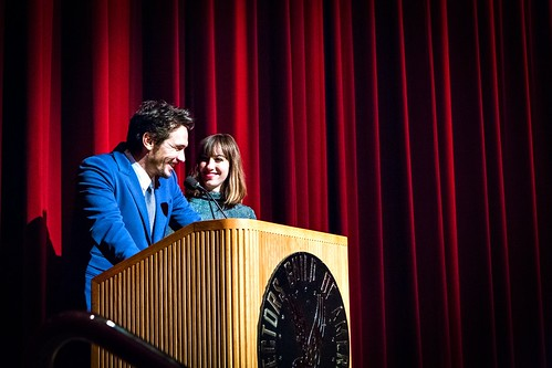 James Franco & Gia Coppola at Palo Alto LA Premiere, a Flux event