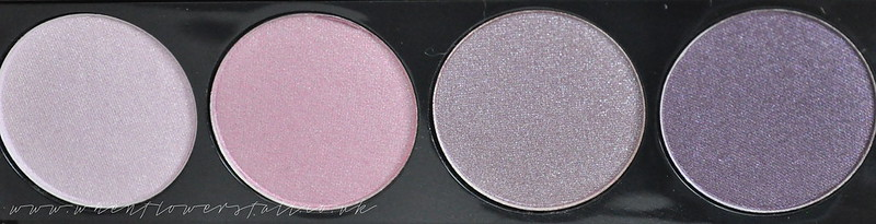 whenflowersfall, beauty, review, w7, purple haze, eyeshadow, quad,
