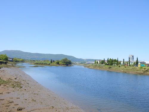 behobia El rio bidasoa