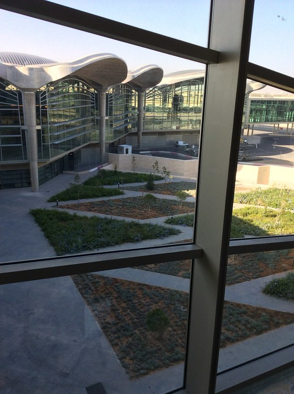 Queen Alia International Airport in Amman, Jordan