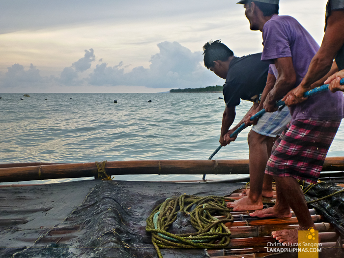 Lambaklad Fishing at Tibiao, Antique