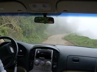 Carretera de Zunil a Fuentes Georginas (Quetzaltenango, Guatemala)