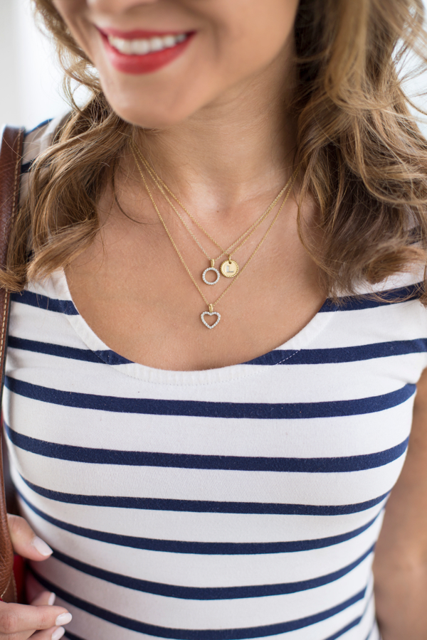 David Yurman Cable Collectibles Stacked Necklaces