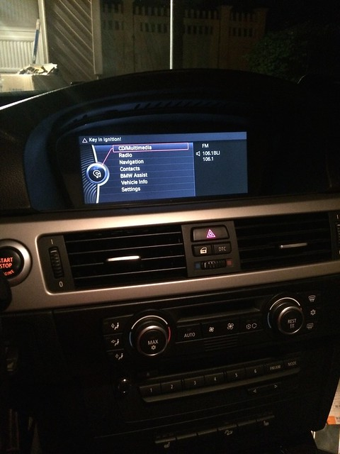 Here it is    Full Non-iDrive to CIC Retrofit done - BMW 3