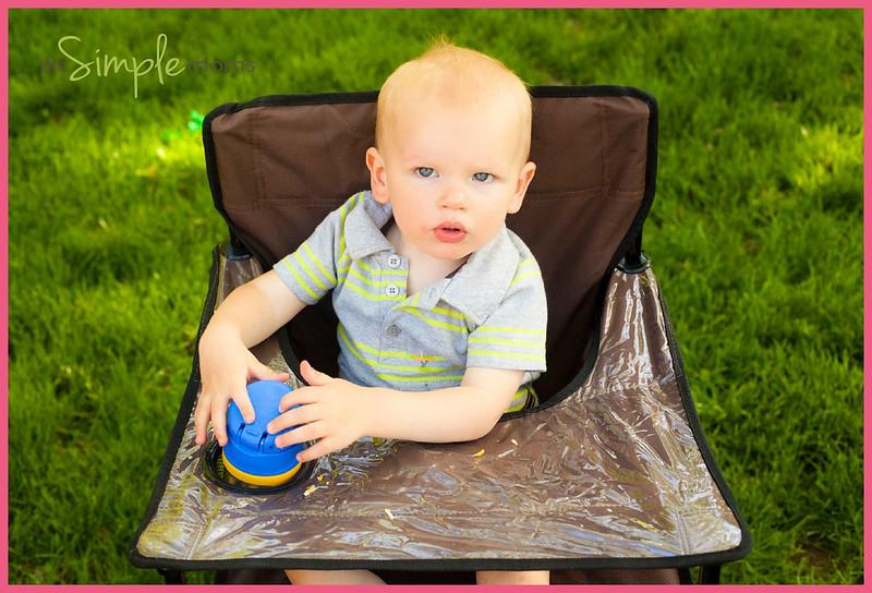 ciao baby 3 logo - Ciao Portable High Chair