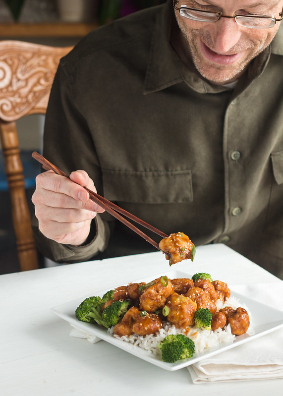 Cauliflower General Tso's