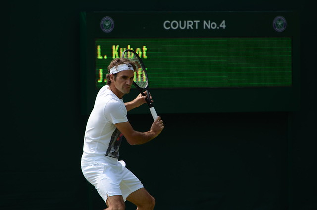 Federer backhand preparation