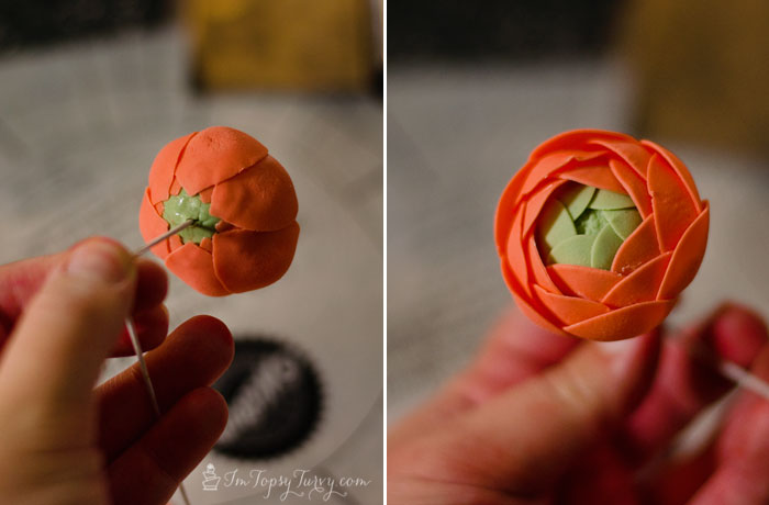gumpaste-ranunculus-tutorial-second-row