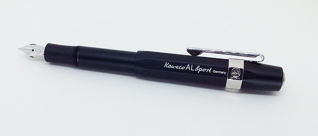 Kaweco Al-Sport Germany fountain pen nib clip aluminum anodized