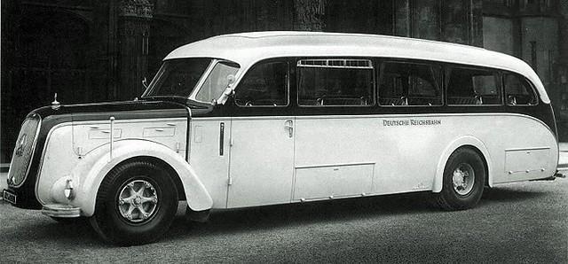 Lord k 39 s garage 111 omnibuses for the autobahn dieselpunks for Mercedes benz autobahn
