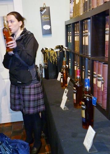 Whisky Tutorial at Glengoyne Distillery