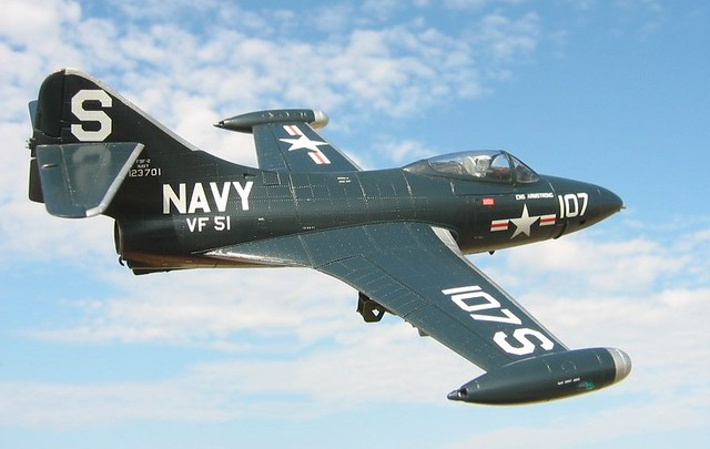 F9F-2 Panther Model (Neil Armstrong) | Flickr - Photo Sharing!