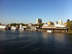 A view from Tower Bridge, Sacramento