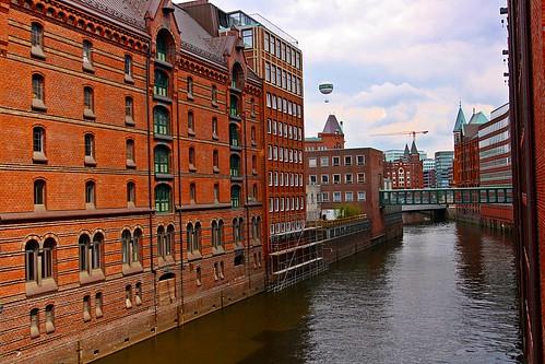 Hamburg Hafen City Germany