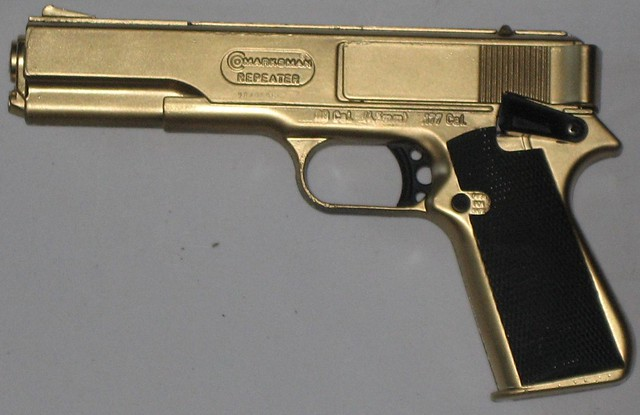 real life cod gold 1911 heavily customized bb gun