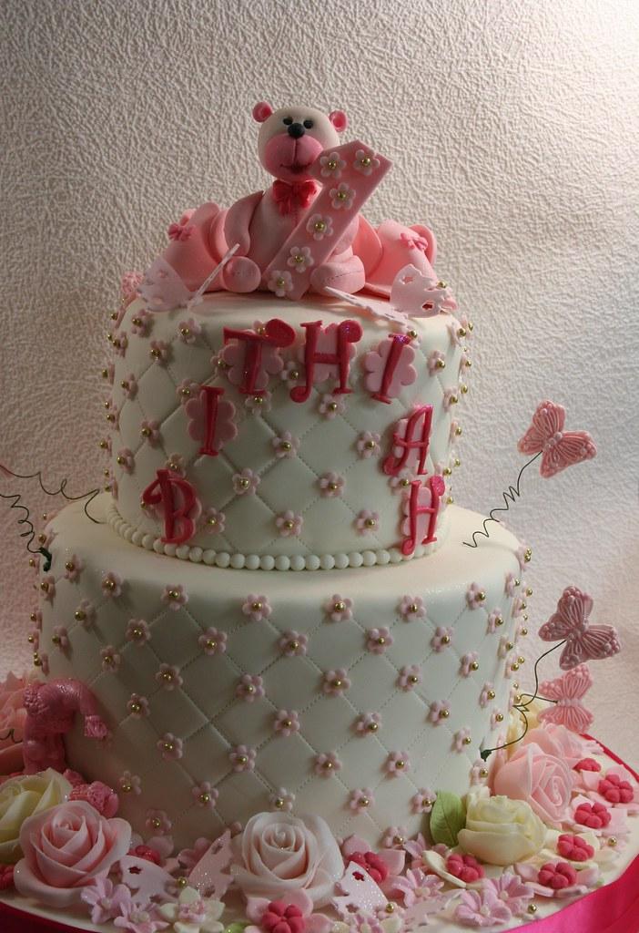 Elizabethscakeemporium Birthday Cake For A One Year Old