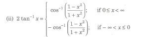 CBSE Class 11 and 12 Maths Notes Inverse T - Functions and T - Equations