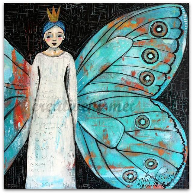 Wings, art by Regina Lord