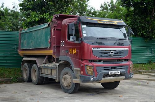 Chuan Lim Construction Volvo FMX 370 Tipper Truck