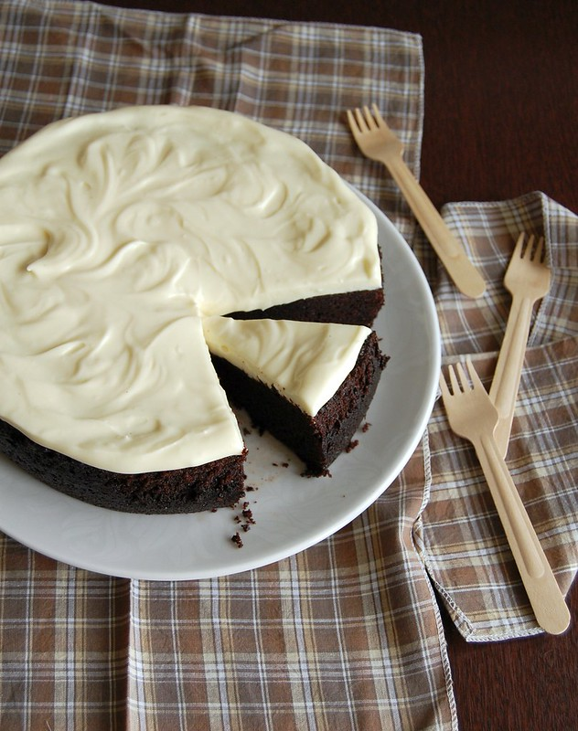 Chocolate stout cake / Bolo de chocolate e cerveja stout