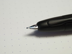 Pilot Capless Fountain Pen Matt Black - Medium Nib