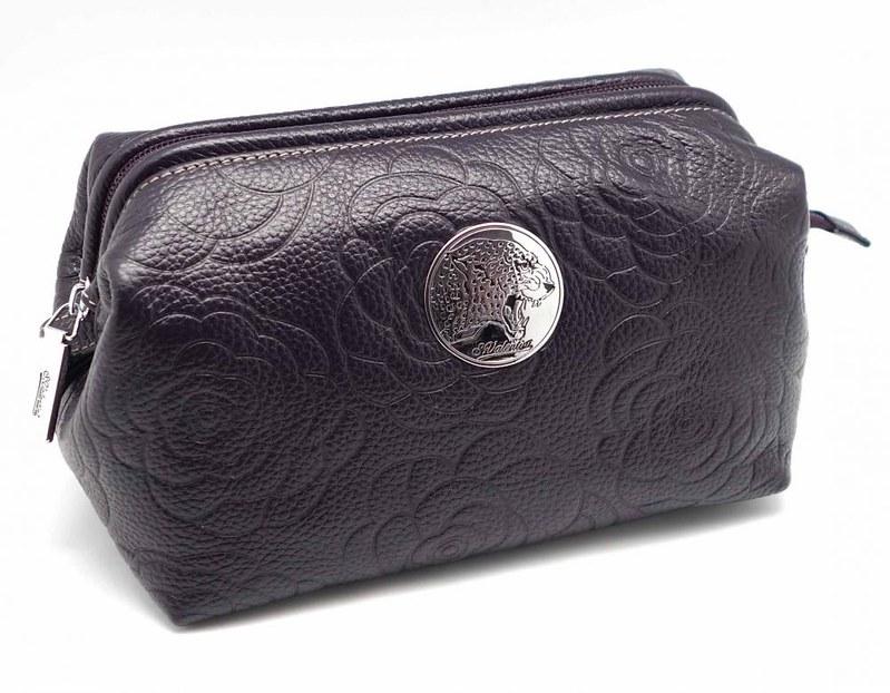 Женские кожаные косметички, коллекция СВ 3187