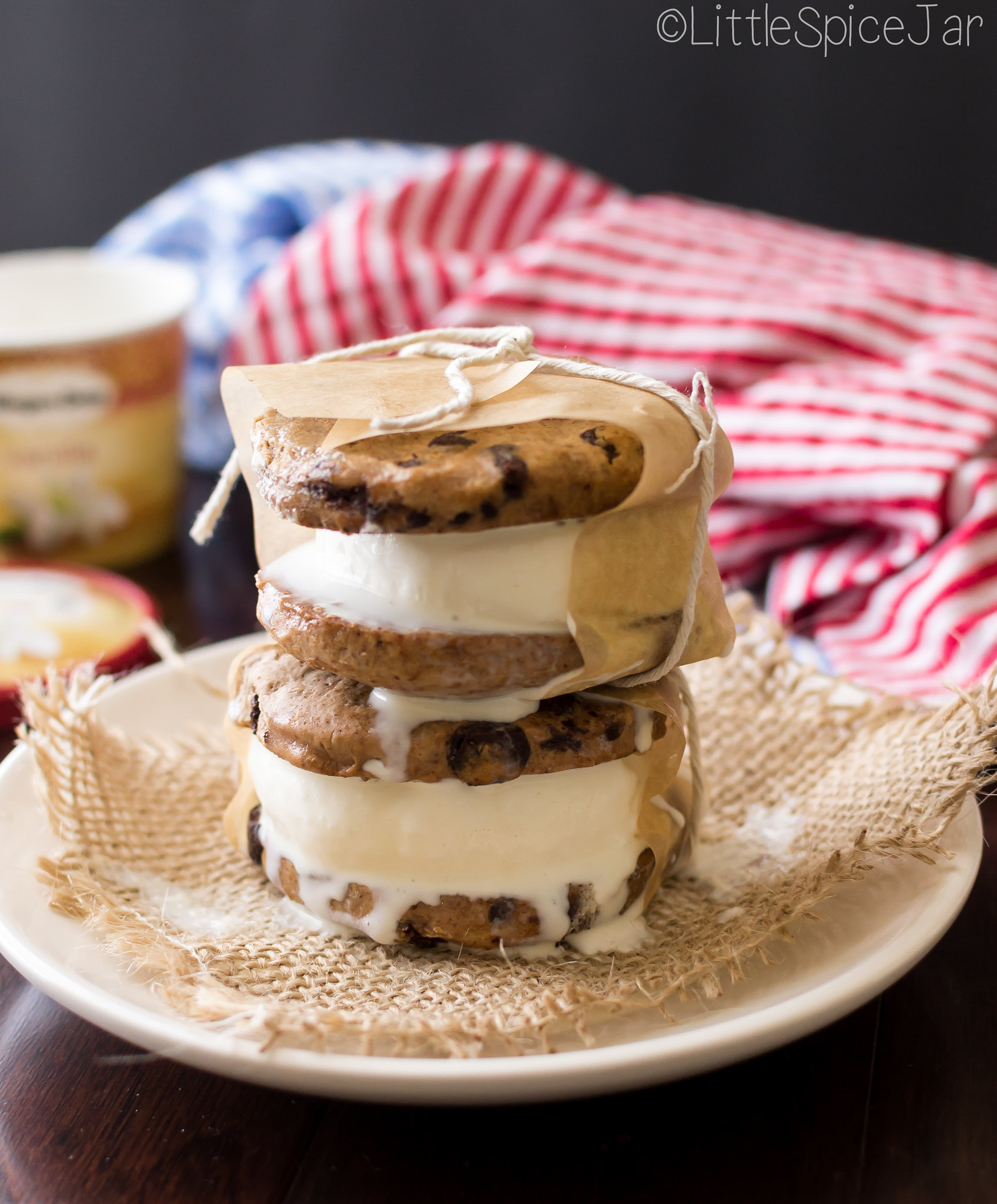 Cookie Ice Cream Sandwiches + Green Plate Foods Giveaway 8