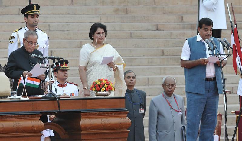 India Road Transport ministers 2014 Nitin Jairam Gadkari