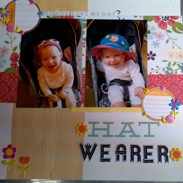 LOAD514 - Documenting toddler's hatwearing habits