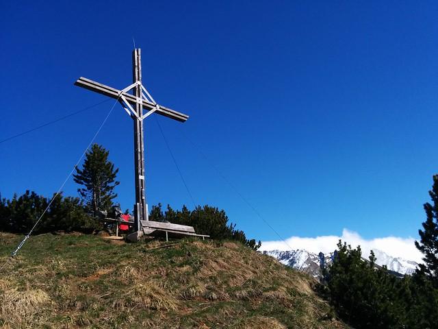 Gipfelkreuz Wolfskofel 2.050 m, Tauferer Ahrntal