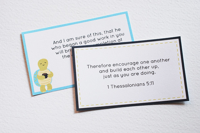 Encouragement Memory Cards