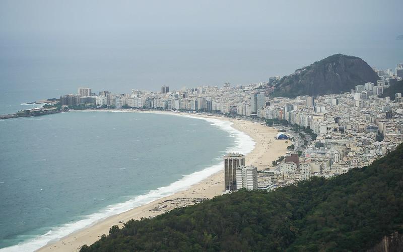 Copacabana  Rio de Janeiro Brazil Brasilia beach ranta