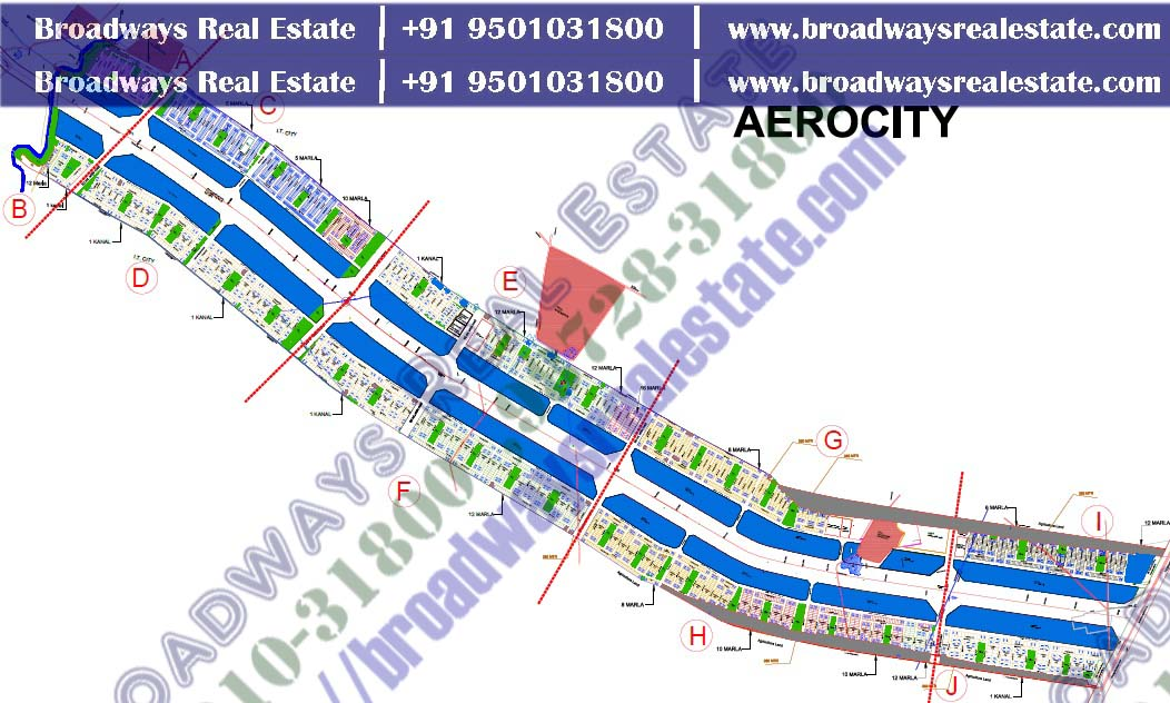 gmada aerocity site map