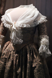 Martha Washington's dress at the National Museum of American History