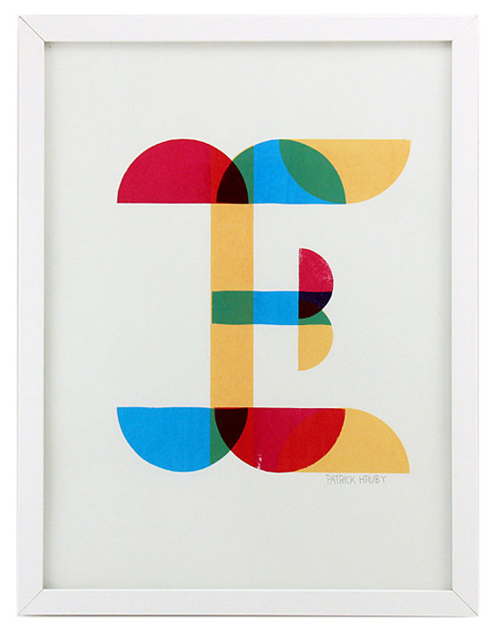 E (Edition of 1), Patrick Hruby, Gallery Nucleus