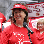 Another Accolade for National Nurses United Director,  RoseAnn DeMoro